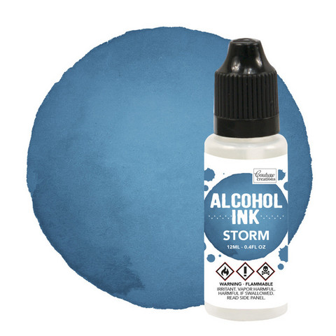 Couture Creations Alcohol Ink 12 ml :  Storm- alkoholimuste