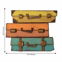 Sizzix Bigz: Baggage Claim -stanssi