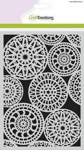 Craft Emotions: Fantasy Circle Pattern A5 -sabluuna