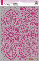 Pronty:  Mandala Background by Jolanda A4 -sabluuna