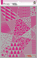 Pronty:  Geometric Backgrounds by Jolanda A4 -sabluuna