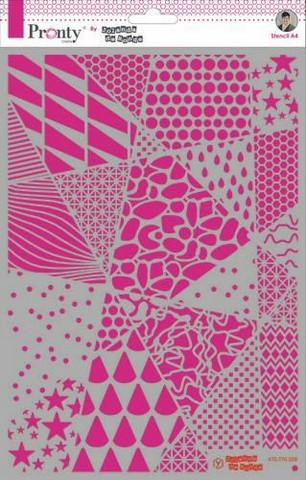 Pronty:  Geometric Backgrounds by Jolanda A4 -sabluuna