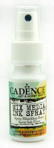 Cadence: Mixed Media Ink Spray 25 ml : White