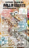 Aall & Create STENCIL: Diamond Life  #70 - sabluuna