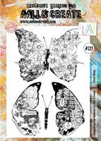 Aall & Create: Floral Wings #322 - leimasinsetti