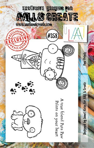 Aall & Create: Paw Prints #358 - leimasinsetti