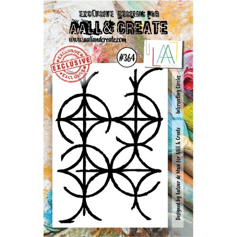 Aall & Create: Intersecting Circles #364 - leimasinsetti