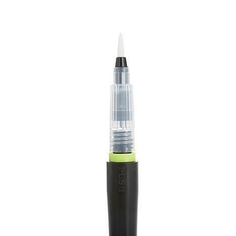 Spectrum Noir Clear Sparkle Glitter Brush Pen  - kirkas kimallekynä sivellinkärjellä