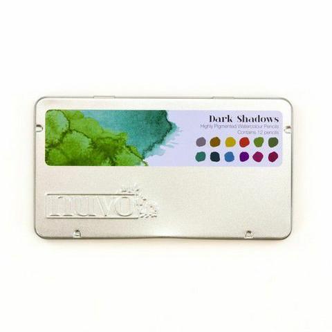 Nuvo Watercolor Pencils: Dark Shadows