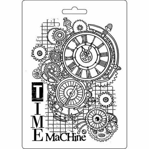 Stamperia Soft Mold A5: Time Machine