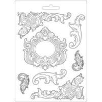 Stamperia Soft Mold A5: Swirls