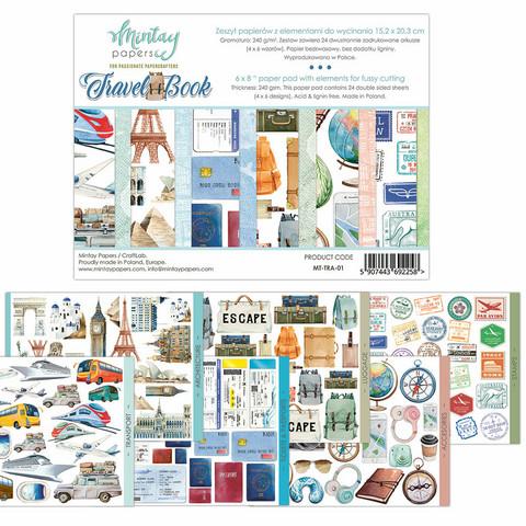 Mintay Papers 6 x 8 : Travelbook- leikekuvalehtiö