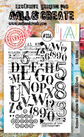 Aall & Create: Bold Alphas #336  - leimasinsetti