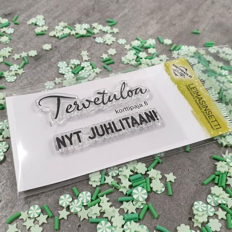 Heidin Korttipaja: Tervetuloa  - leimasinsetti