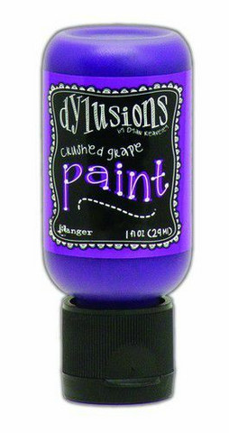 Ranger Dylusions Flip Cap: Crushed Grape 29ml - akryylimaali