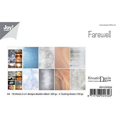 Joy Crafts: Farewell A4 - paperikokoelma