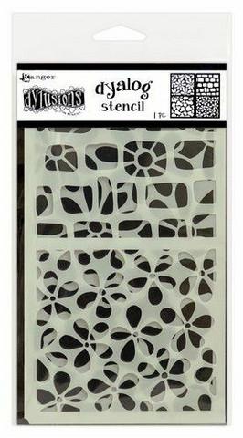 Dylusions Dyalog Stencil Set: Doodle It