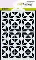 Craft Emotions: Diamond Flower Block A6 -sabluuna