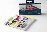 Derwent Inktense Paint Pan Travel Set #1 - vesivärit