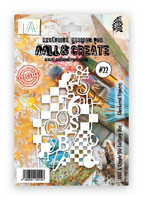 Aall & Create DIE Checkered Figures #22 - stanssi