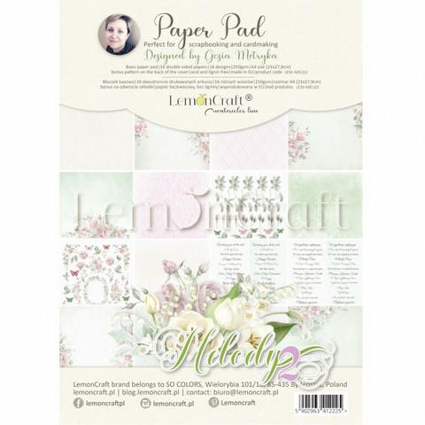 Lemoncraft: Melody 2 A4  -paperilehtiö