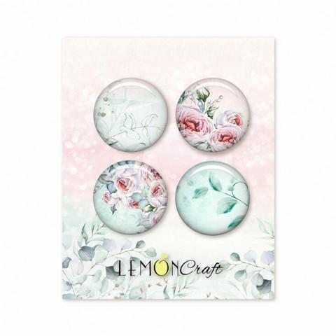 Lemoncraft: Blush Flair Buttons -  koristeet