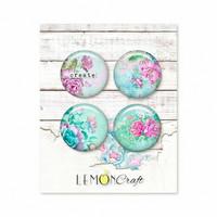 Lemoncraft: Silence Flair Buttons -  koristeet