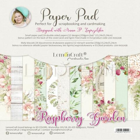 Lemoncraft: Raspberry Garden 6x6 -paperilehtiö