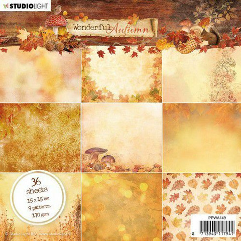 Studio Light: Wonderful Autumn  #149  - paperikko