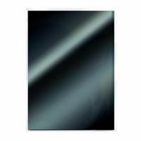 Craft Perfect:  Glossy Black High Gloss A4 - peilikartonkipakkaus