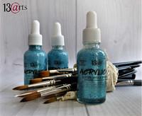 13arts Acrylic Ink: Crystal Turquoise 30 ml