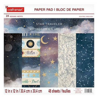Craft Smith: Star Traveler 12x12 - paperilehtiö