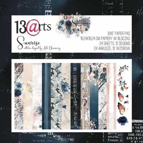 13arts: Sunrise 6x6 - paperikokoelma