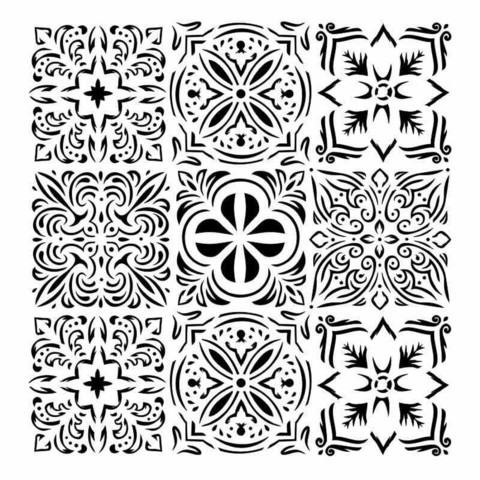 13arts: Italian Floor 6 x 6 -sabluuna