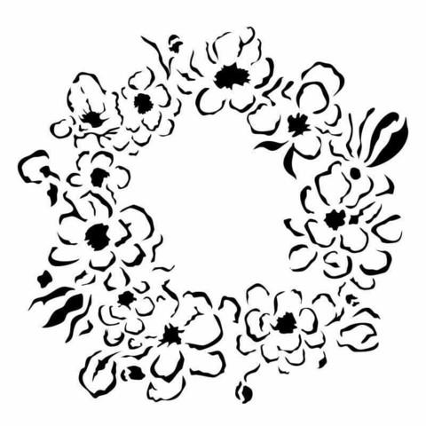 13arts: Autumn Wreath 6 x 6 -sabluuna