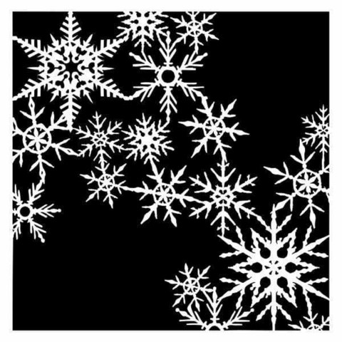 13arts: It's Snowing 6 x 6 -sabluuna