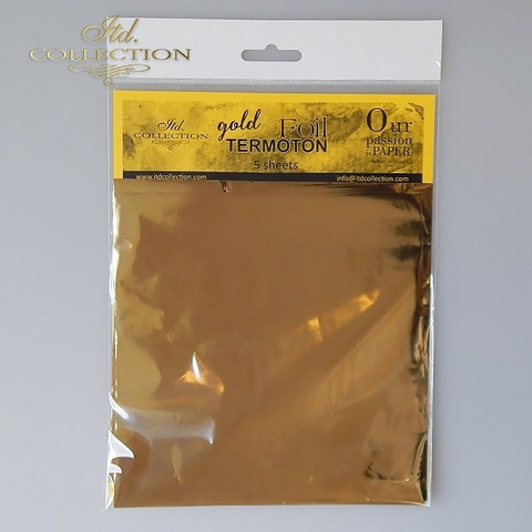 ITD Collection Foil Sheets: Gold Termoton