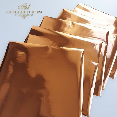 ITD Collection Foil Sheets: Copper Termoton