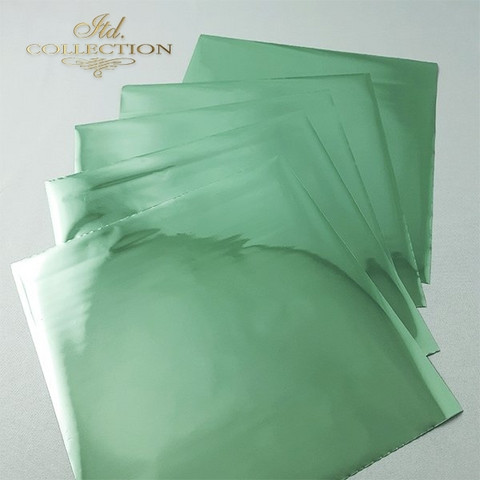 ITD Collection Foil Sheets: Pistachio Termoton