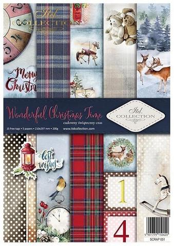 ITD Collection: Wonderful Christmas Time A4- paperikokoelma
