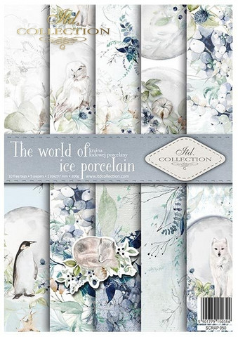ITD Collection: The World of Ice Porcelain A4- paperikokoelma