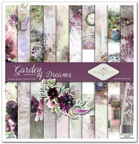 ITD Collection: Garden of Dreams 12x12- paperikokoelma