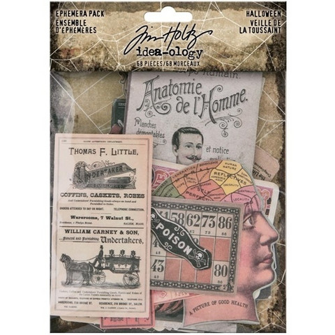 Tim Holtz Idea-ology: Ephemera Pack Halloween 2020