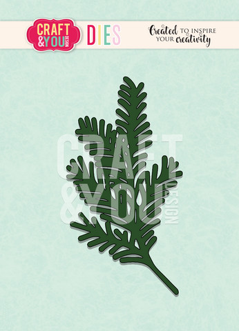 Craft & You: Conifer Twig -stanssisetti