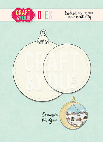 Craft & You: Christmas Ball #7 -stanssisetti