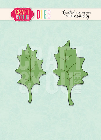 Craft & You: Holly Leaves -stanssisetti