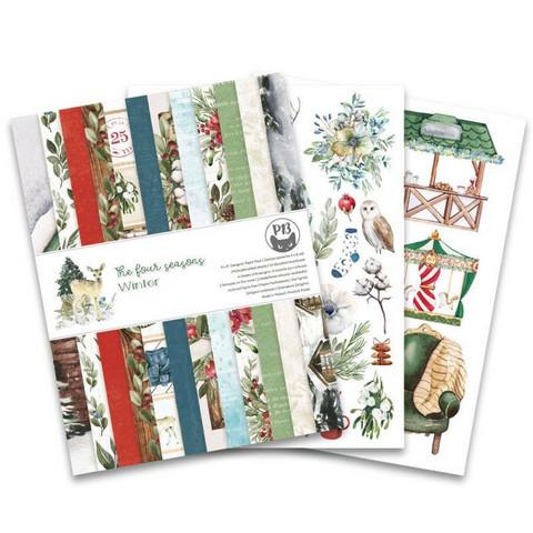 P13 : Four Seasons - Winter 6x8 - paperikokoelma