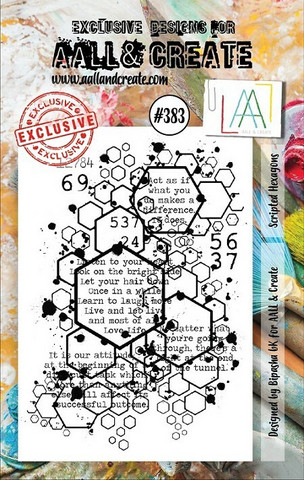 Aall & Create: Scripted Hexagons #383 - leimasinsetti