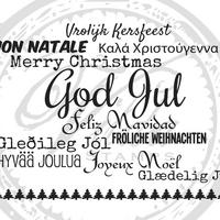 Vilda Stamps:  Joulukollaasi Unmounted - leimasinsetti