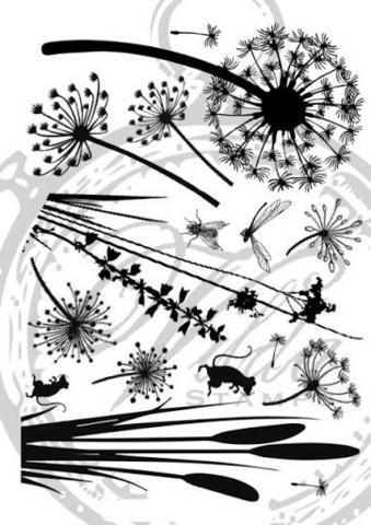 Vilda Stamps: Silhouette Nature Unmounted - leimasinsetti
